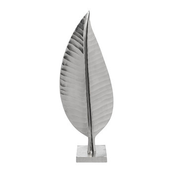 Leaf Sculpture - Silver