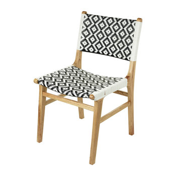 Ashlyn Chair - Black/White