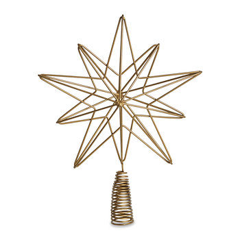 Talini Tree Topper - Brass