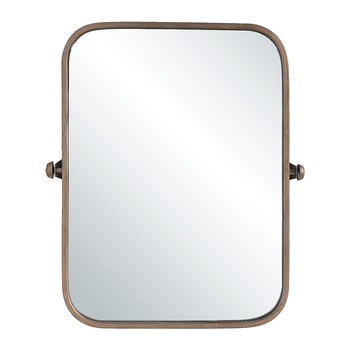Terrain Wall Mirror - Copper