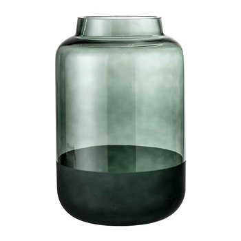 Green Glass Pill Vase