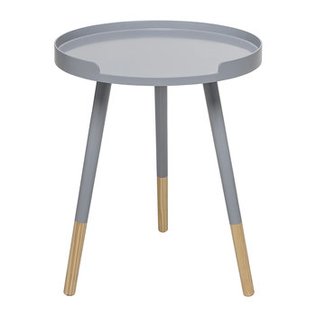 Round Side Table - Gray