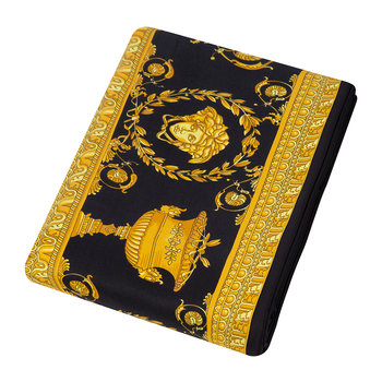 Barocco&Robe Flat Sheet - 270x300cm - Black/Gold
