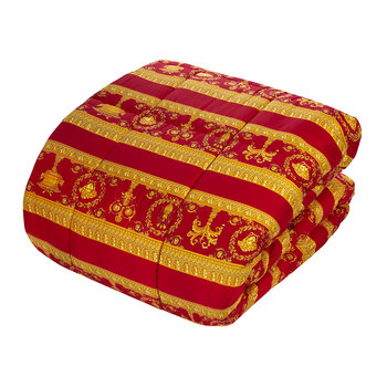 Barocco&Robe Bedspread - Red/Gold/Black
