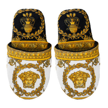 Chaussons I Love Baroque - Noir/Blanc/Or