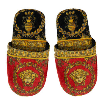 Chaussons I Love Baroque - Noir/Rouge/Or