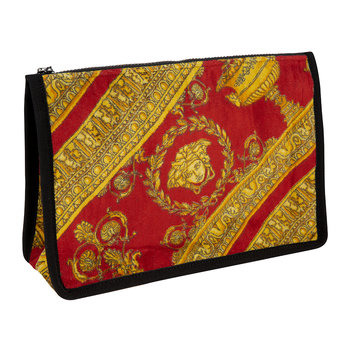 I Love Baroque Wash Bag - Black/Red/Gold