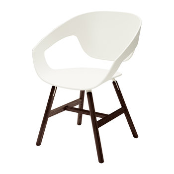 Vad Wood Chair - White
