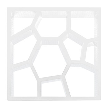 Opus Incertum Display Cabinet - White