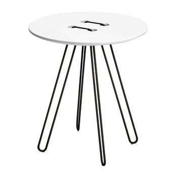 Twine Table - White & Black