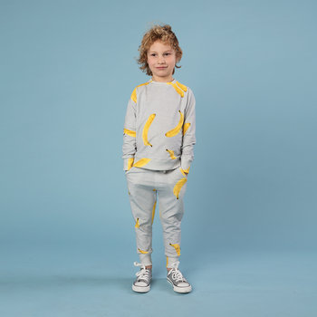 Children's Banana Gray Sweater