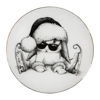 Perfect Plates - Christmas Clumsy Bunny