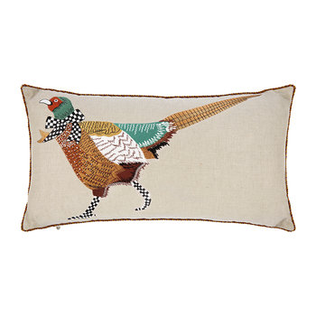Pheasant Lumbar Cushion