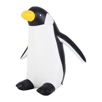 Penguin Doorstop - Black & White