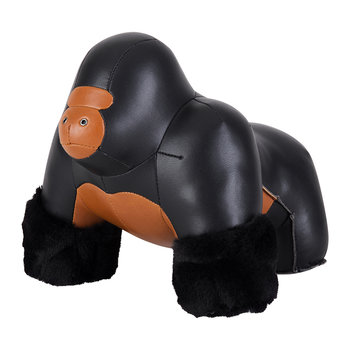 Gorilla Milo Door Stop - Black & Tan
