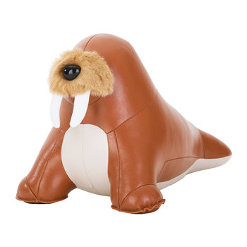 Walrus Walu Doorstop - Tan & Wheat
