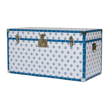 Studded Storage Trunk/Coffee Table - Evil Eye