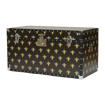 Studded Storage Trunk/Coffee Table - Bee