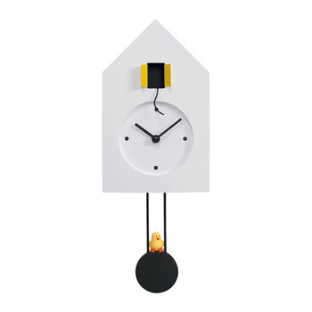 Freebird Wall Clock - White