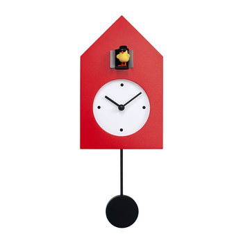 Freebird Badass Wall Clock - Red