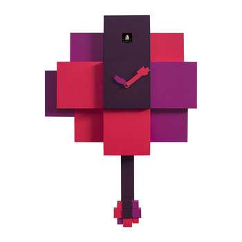 Choco Wall Clock - Purple