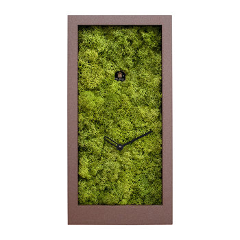Amazon Wall Clock - Brown