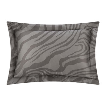 Limited Edition Macro Zebrage Bed Set - Grey - Super King