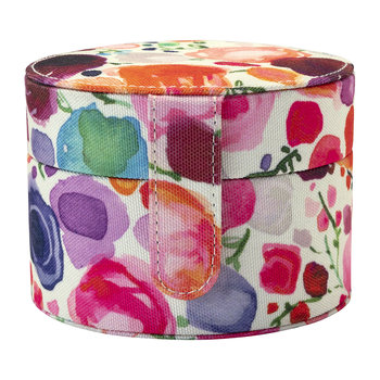 Travel Jewellery Organiser - Floral