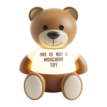 This Is Not A Moschino Toy Lamp by Jeremy Scott