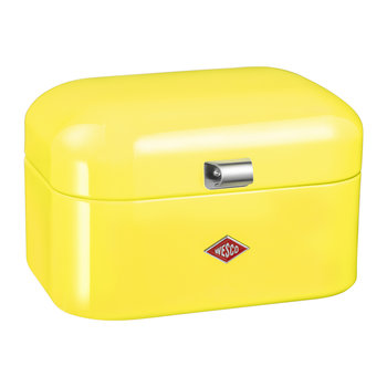 Single Grandy Bread Bin - Lemon Yellow
