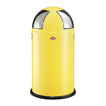 Push Two Bin - 50L - Lemon Yellow
