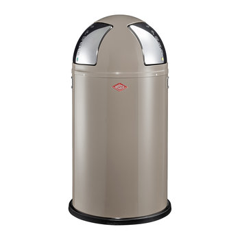 Push Two Bin - 50L - Warm Grey