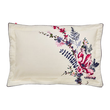 Harvest Garden Oxford Pillowcase - Bilberry