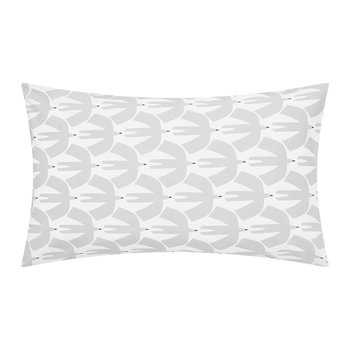 Pajaro Pillowcase - Set of 2 - Steel