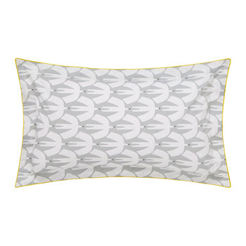 Pajaro Oxford Pillowcase - Steel