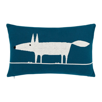 Mr Fox Pillow - Marine - 50x30cm