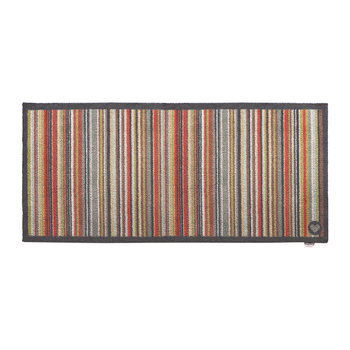 Paillasson collection Contemporain - Rayure 32 - Multi