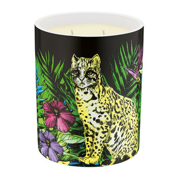 Bougie Parfumée de Luxe - 600 g - Jungle de Minuit