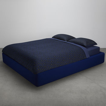 Carrie Duvet Cover - Navy