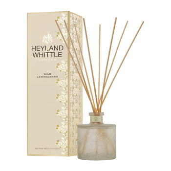 Gold Classic Reed Diffuser - Wild Lemongrass