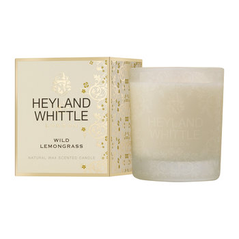 Gold Classic Scented Candle - 230g - Wild Lemongrass