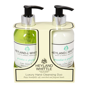 Greentea & Grapefruit Liquid Soap & Hand Cream Set