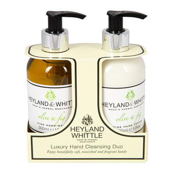 Olive & Fig Liquid Soap & Hand Cream Set