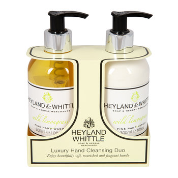 Wild Lemongrass Liquid Soap & Hand Cream Set