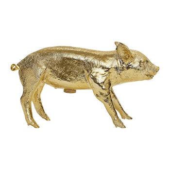 Reality Collection Bank in the Form of a Pig Money Bank - Gold