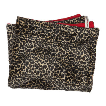 Leopard Print Padded Cat Blanket
