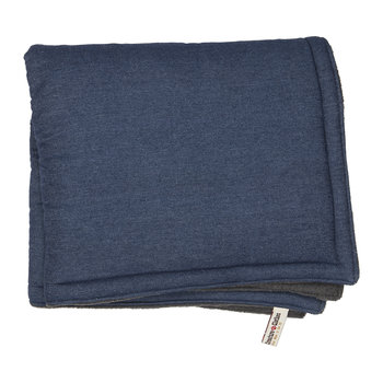 Denim Blue Padded Cat Blanket
