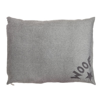 Dog Doza Bed - Medium - Soft Grey Woof - Limited Edition