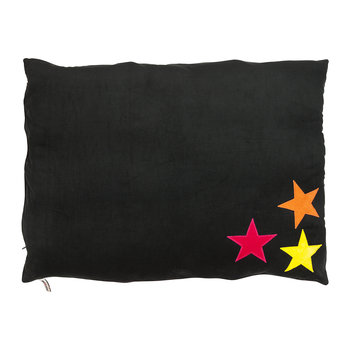 Dog Doza Bed - Medium - Multi-Coloured Stars