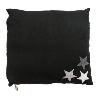 Dog Doza Bed - Medium - Black & White Stars